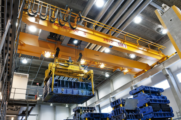 Single Cell Complete Freestanding Bridge Crane System